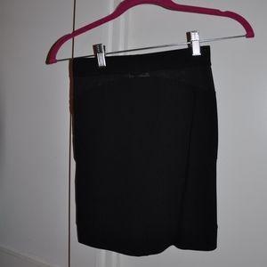 Nasty Gal Black Tight Mini Skirt XS